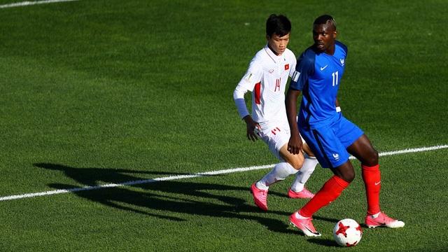 Trận thua U20 Pháp sẽ giúp ích cho U20 Việt Nam