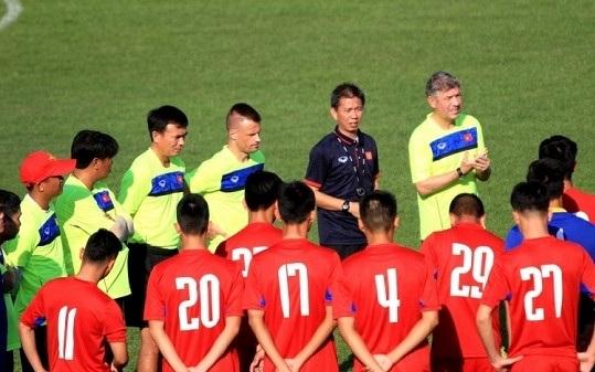 HLV Hoàng Anh Tuấn sẽ có nhiều phương án cho đội tuyển U20 Việt Nam?