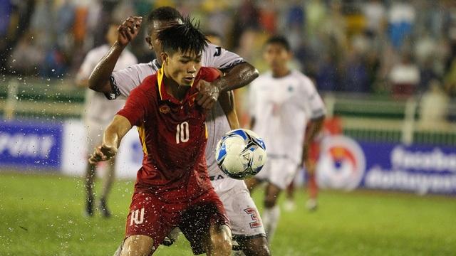 U22 Việt Nam đang dẫn đầu bảng I vòng loại U23 châu Á với 6 điểm, hiệu số 12-1
