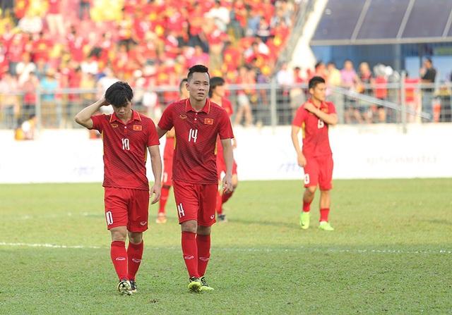 Bóng đá Việt Nam nhận 2 thất bại quan trọng trong vòng 2 năm liên tiếp (ảnh: Q.H)