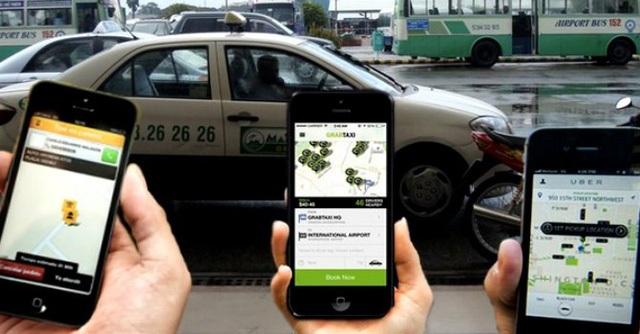 Taxi truyền thống tố Uber, Grab vi phạm các quy định và cạnh tranh không lành mạnh (ảnh minh họa)