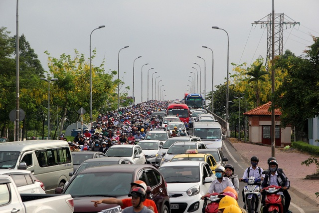 Tình hình kẹt xe vẫn là thách thức của TPHCM