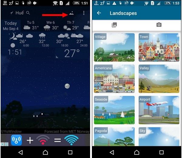 Ứng dụng dự báo thời tiết với các hiệu ứng động cực đẹp mắt cho smartphone - 4