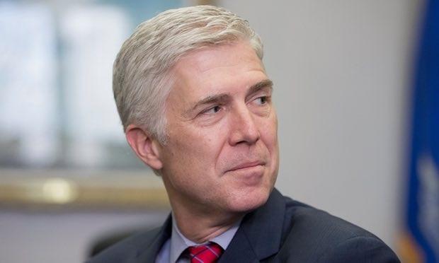 Ứng viên thẩm phán Tòa án tối cao Mỹ Neil Gorsuch (Ảnh: Guardian)