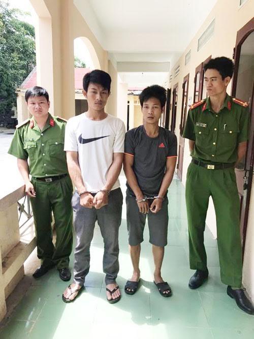 Hai đối tượng cướp tài sản bị bắt giữ