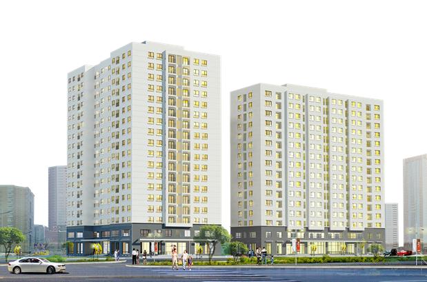 Hình ảnh minh họa dự án Khu nhà ở Xuân Đỉnh Hà Nội