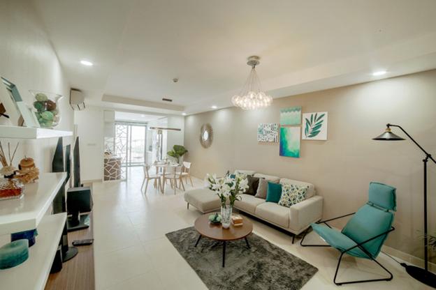 Mỗi căn hộ dự án đều là không gian sống mơ ước, khoáng đạt bên bờ sông Hồng