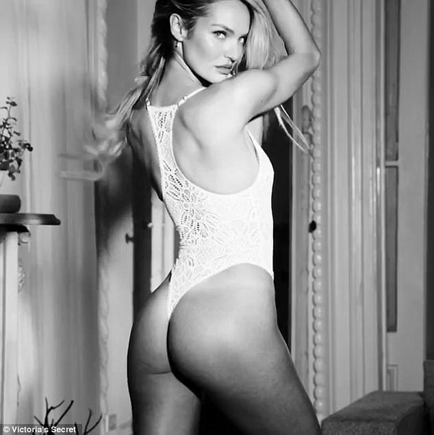 Candice Swanepoel chính thức quay lại với vai trò thiên thần của Victorias Secret - 8 tháng sau khi sinh con trai đầu lòng Anaca