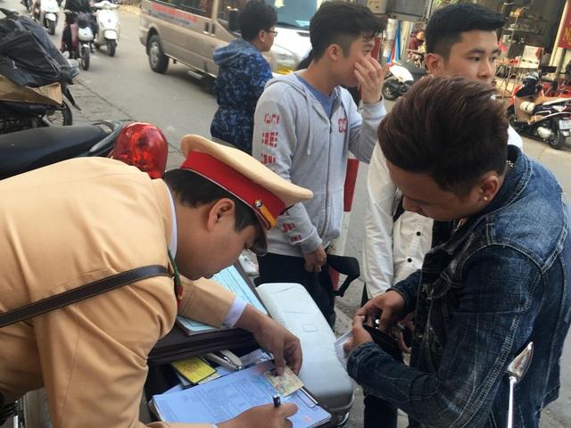 3.551 trường hợp vi phạm giao thông bị xử phạt trong 4 ngày nghỉ lễ
