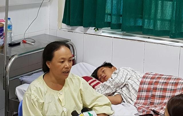 Một trường hợp trẻ mắc viêm não Nhật Bản được điều trị tại BV Nhi Trung ương. Ảnh: H.Hải