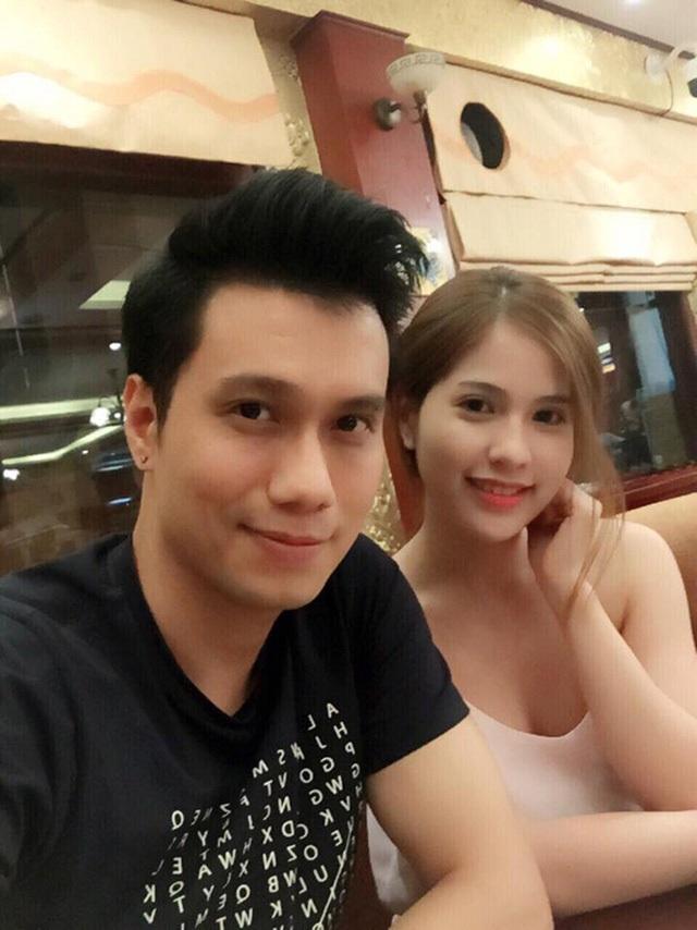 Việt Anh và chân dung bà xã hot girl.