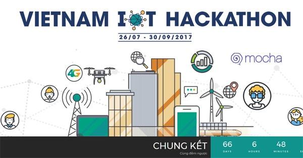 """Vietnam IOT Hackathon là cơ hộ """"tiếp sức"""" cho những dự án khởi nghiệp IOT giàu tiềm năng"""
