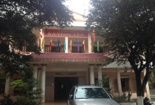 Công sở xã Vĩnh Yên