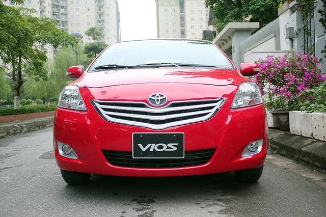 Năm 2017, Toyota Việt Nam triệu hồi Vios với số lượng kỉ lục (Ảnh: Việt Hưng)