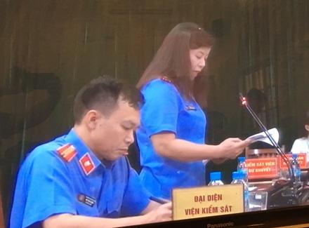 Viện Kiểm sát đang luận tội Hà Văn Thắm cùng 50 đồng phạm