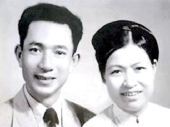 Nhà tư sản Trịnh Văn Bô và vợ Hoàng Thị Minh Hồ