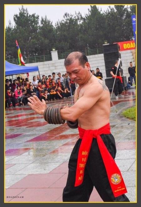 Võ sư Nguyễn Văn Tháng. Ảnh: Hoàng Nam.