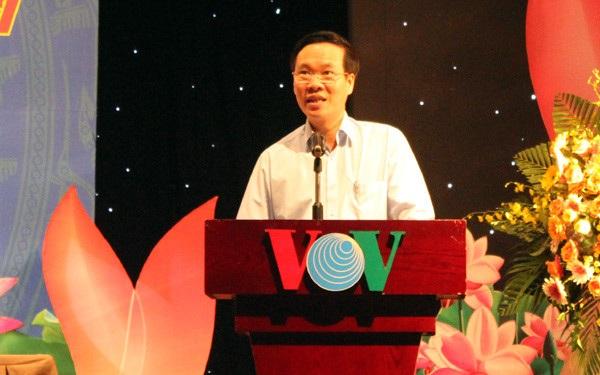 Ông Võ Văn Thưởng phát biểu chỉ đạo hội nghị (Ảnh: VOV)