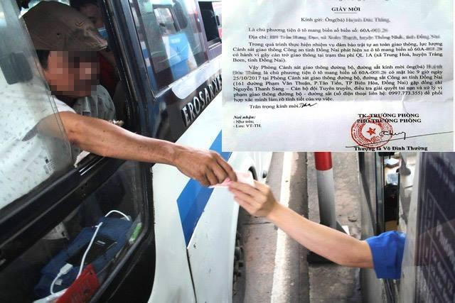 Từ giấy mời của Phòng CSGT Đường bộ - Đường sắt Đồng Nai, dư luận thắc mắc về lý lịch của Thượng tá Võ Đình Thường