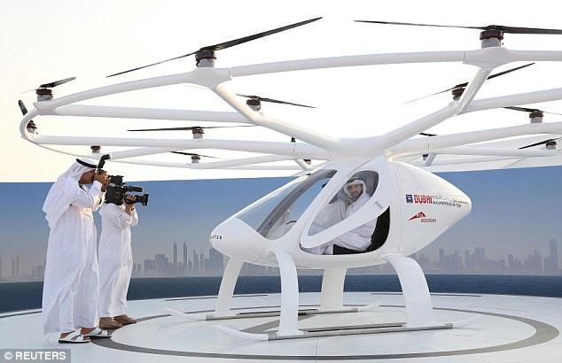 """Dubai sẽ có dịch vụ """"taxi bay"""" không người lái đầu tiên trên thế giới - 2"""