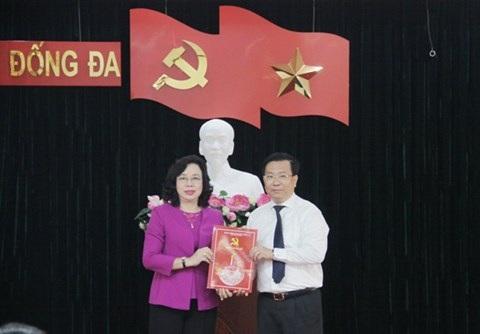 Ông Võ Nguyên Phong được điều động tham gia Ban Chấp hành Đảng bộ quận Đống Đa từ ngày 22/8