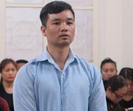 Vũ Duy Kiên, phủ nhận lời khai tại cơ quan điều tra và cho rằng, mình chỉ là người đi bán vàng hộ cho đối tượng tên Vương người Trung Quốc.