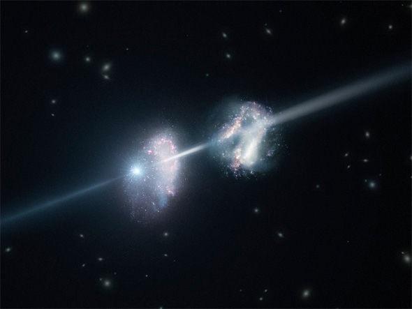 Vụ nổ xảy ra cách đây 10 tỷ năm.