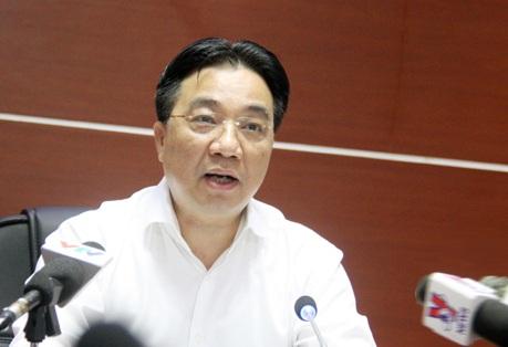 Ông Vũ Văn Viện - Giám đốc Sở GTVT Hà Nội