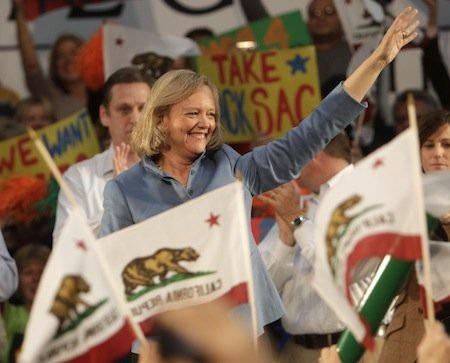 Meg Whitman từng tham gia tranh cử vào năm 2010.