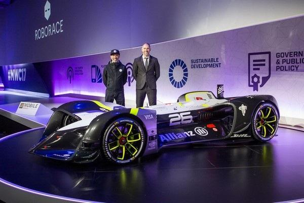 Xe đua tự lái của Roborace có kích thước tương đương một chiếc xe Công thức 1