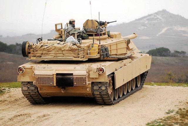 Xe tăng M1 Abrams của quân đội Mỹ (Ảnh: Yahoo)