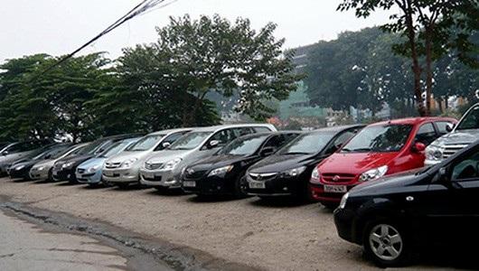 Một điểm cho thuê xe ở Hà Nội