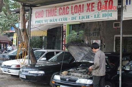 Luôn có tình trạng cháy hàng dịch vụ cho thuê xe dịp Tết