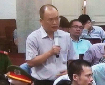 Trần Anh Thiết, cựu Giám đốc Oceanbank chi nhánh Hà Nội.