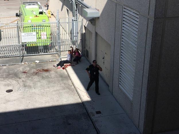 Vụ xả súng xảy ra ở nhà ga số 2, sân bay quốc tế Fort Lauderdale. (Ảnh: Reuters)