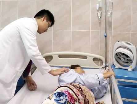 Sau phẫu thuật, sức khỏe bệnh nhân đã ổn định (ảnh: bệnh viện cung cấp)