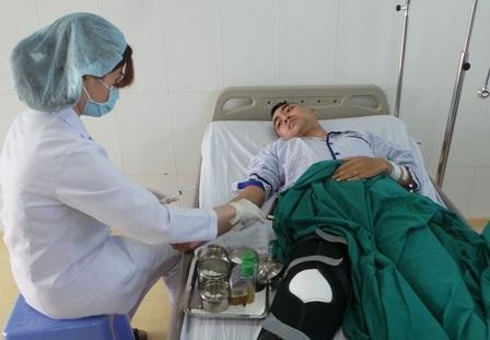 Sau mổ bệnh nhân hy vọng cuộc đời sẽ sang trang mới tươi sáng hơn