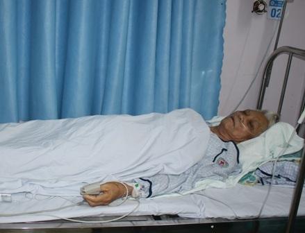 Sau khi đặt stent, sức khỏe của người bệnh đã dần ổn định