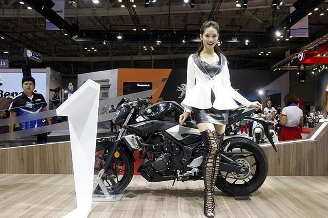 Yamaha MT-03 xuất hiện lần đầu tiên tại Việt Nam vào tháng 5/2017 nhưng sau đó gần một tháng, mẫu xe này mới được công bố giá bán chính thức.