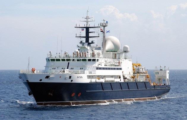 Tàu Yantar của Nga (Ảnh: Freebeacon)
