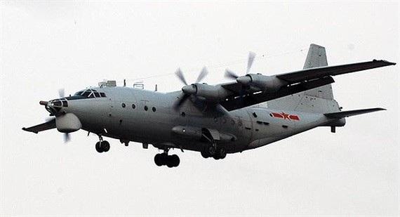 Một máy bay vận tải quân sự của Trung Quốc (Ảnh: CAF)
