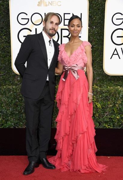 Zoe Saldana và chồng Marco Perego rất hiếm khi dự sự kiện