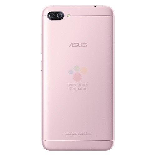 Hình ảnh được cho là của Zenfone 4 Max Pro với cụm camera kép ở mặt sau sản phẩm