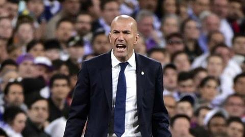 HLV Zidane thất vọng vì học trò quá... dại trước Barcelona