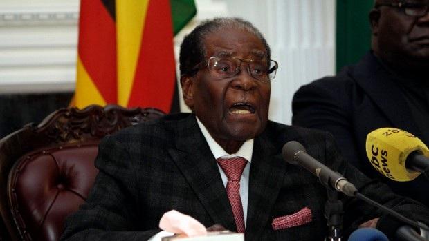 Tổng thống Zimbabwe Robert Mugabe (Ảnh: Reuters)