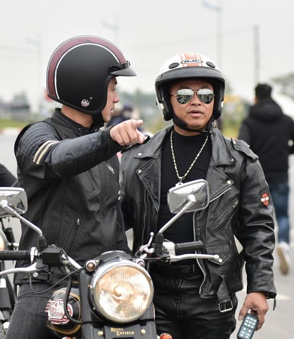 Đây cũng là dịp để những người chơi môtô phân khối lớn giao lưu.