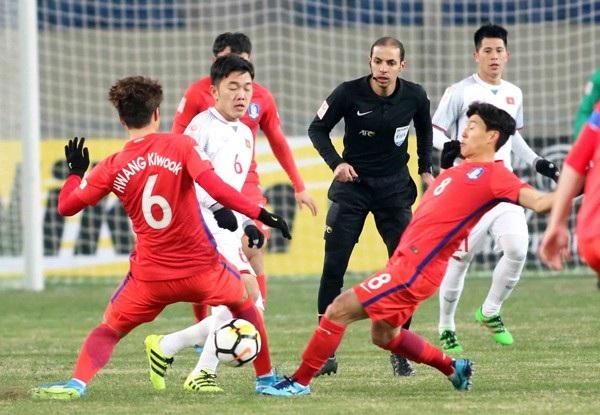 U23 Việt Nam đã chơi đầy nỗ lực trước U23 Hàn Quốc