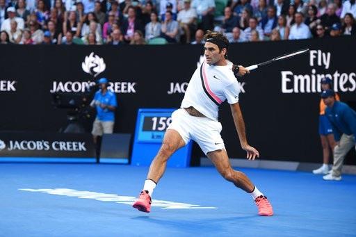 Federer đang tiến dần tới trận chung kết thứ hai liền tiếp