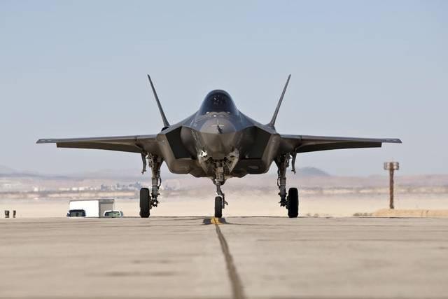 Một máy bay F-35 (Ảnh: Lockheed Martin)