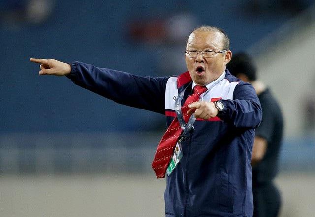 Huấn luyện viên Park Hang Seo.